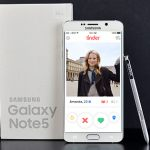 Enjoy Samsung Galaxy Note 5 with your Tinder App